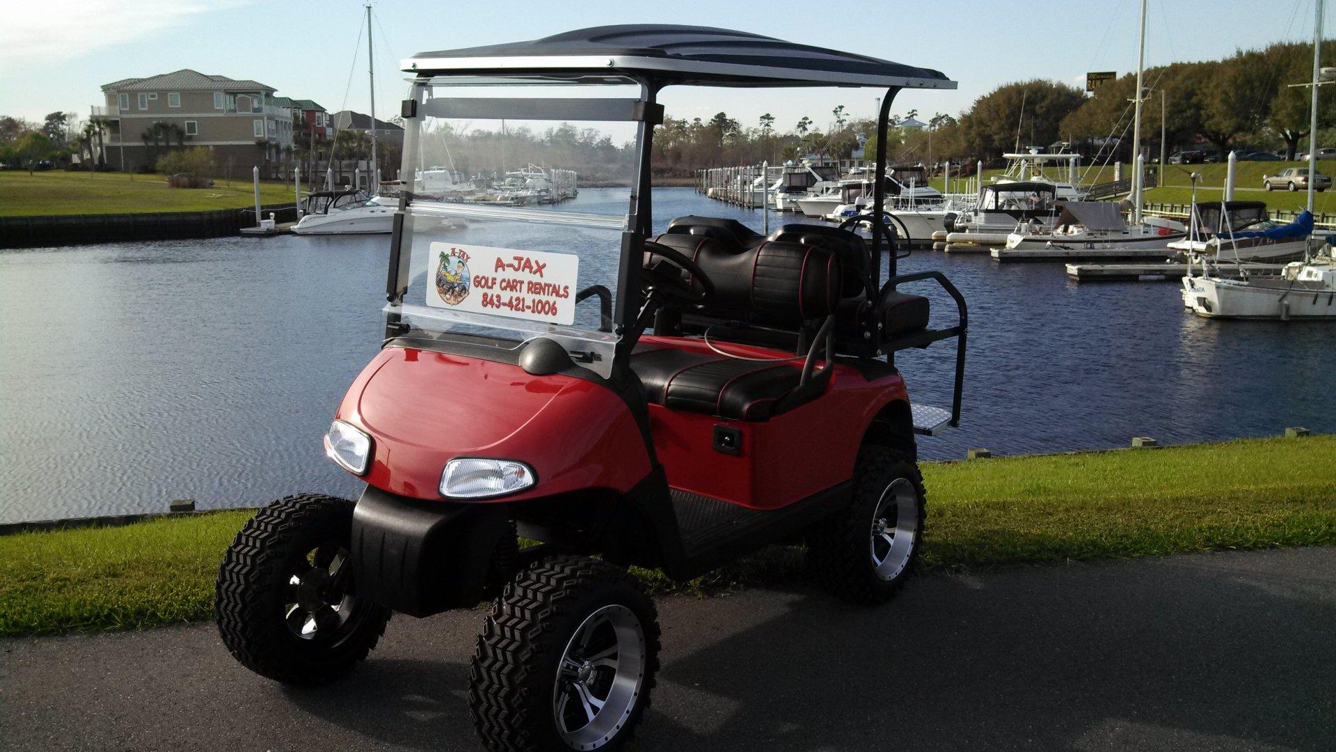Garden City A Jax Golf Cart Rentals