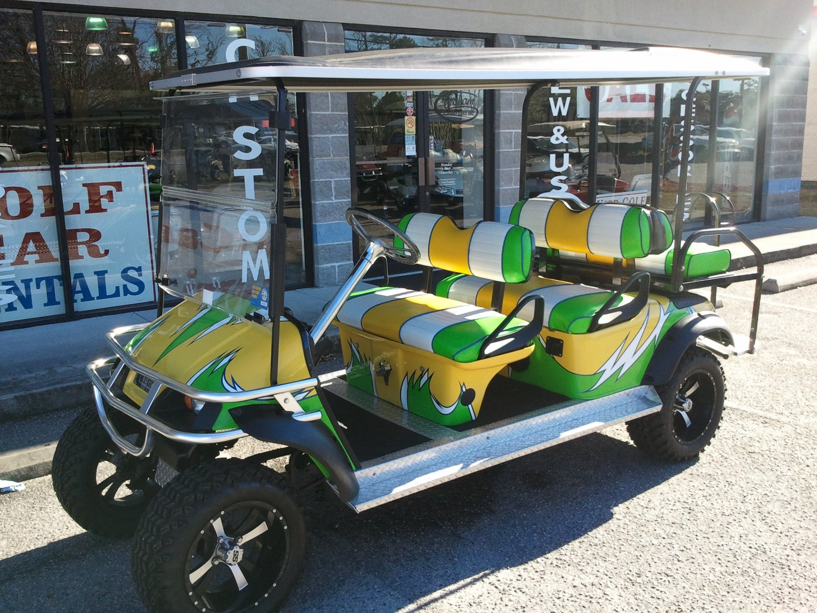 Garden City | A-JAX Golf Cart Rentals on 2002 chrysler gem cart, car cart, box cart,